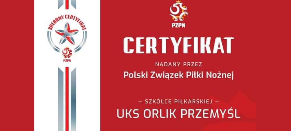 Srebrny Certyfikat dla Orlika